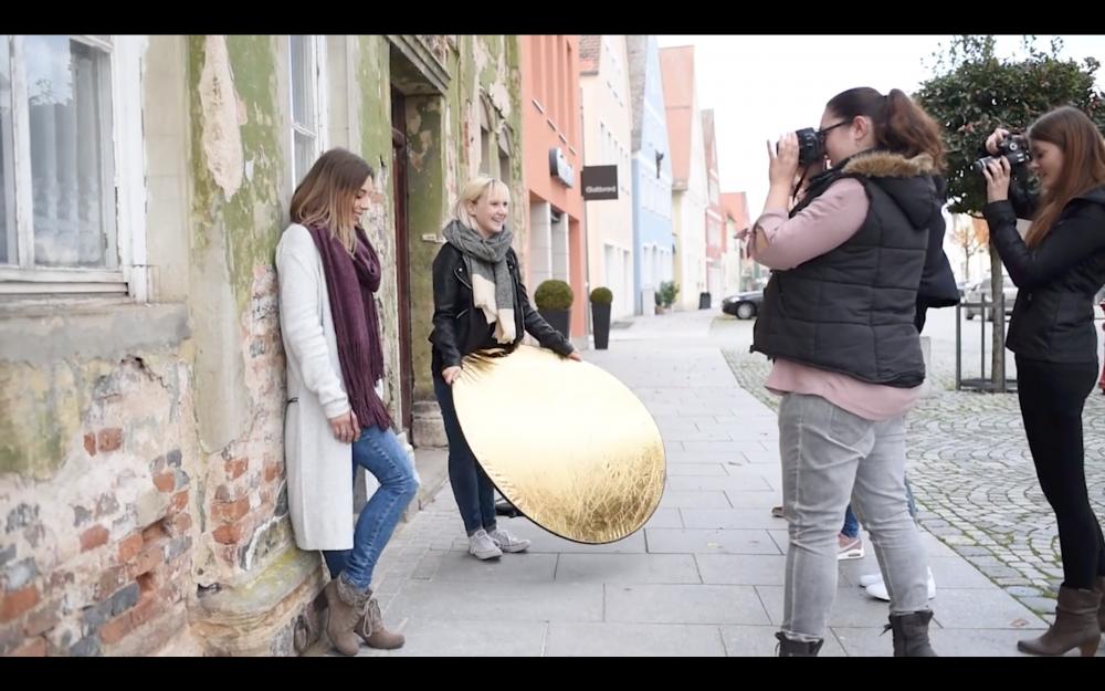 Einsteiger-workshop_vanessaundsasika Behind The Scenes