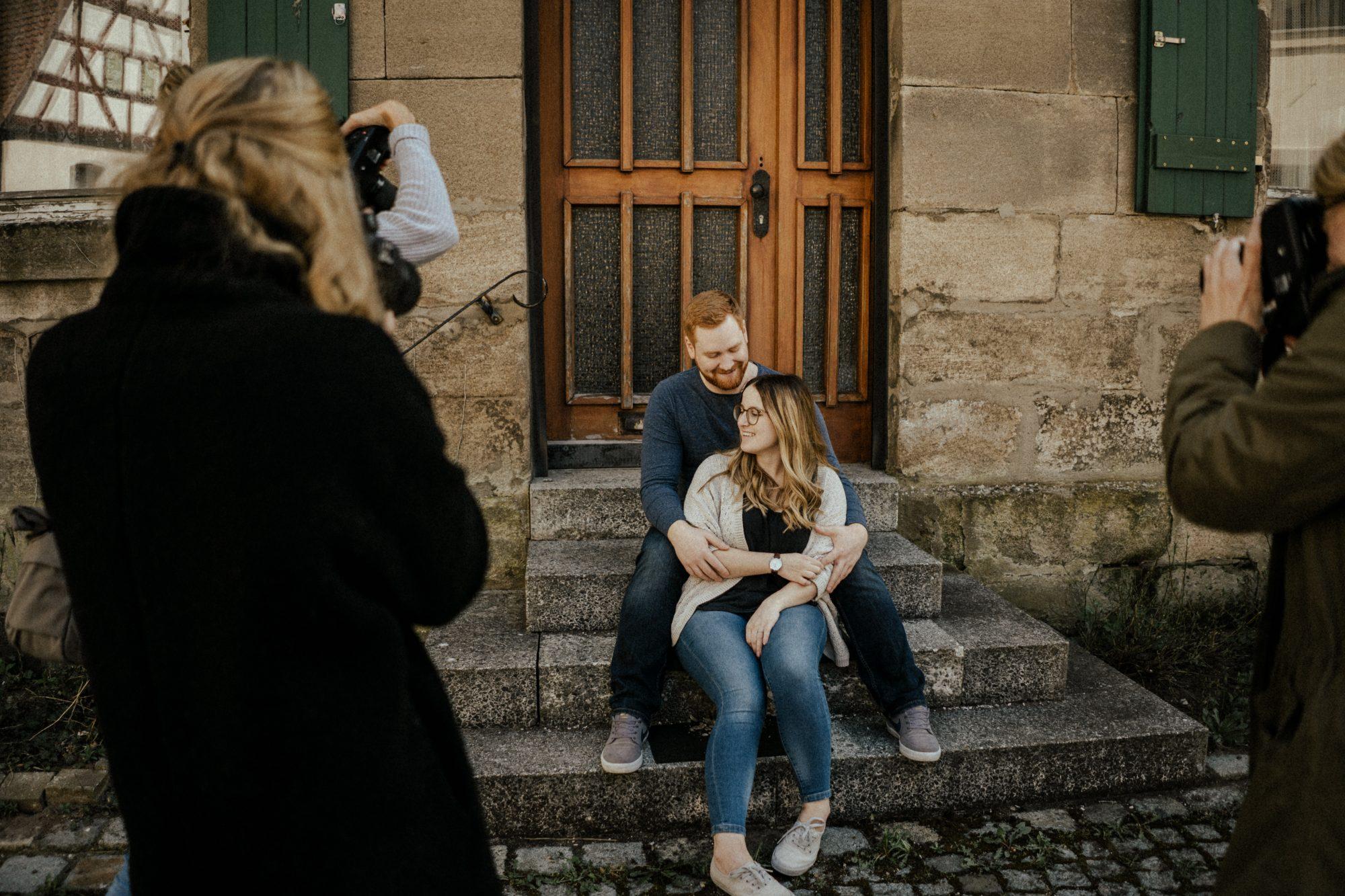 Paarworkshop Vanessa und Saskia Behind the Scenes