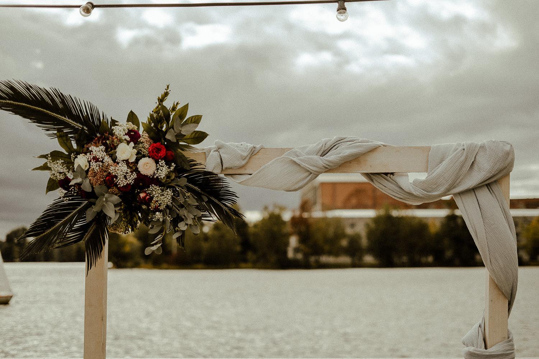 Hochzeitsreportage im Bootshaus Nürnberg. Herbsthochzeit.