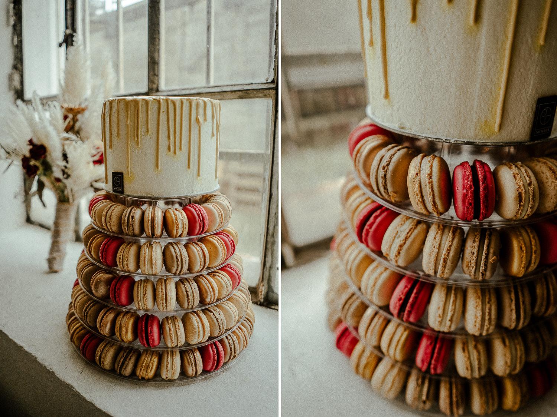 Hochzeitsworkshop Grace Food Nürnberg Hochzeitsreportage Tafelzier Hochzeitstorte Macarons